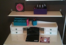 Kenzie bedroom / by Courtney Lightfoot