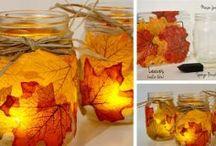 jesenná výzdoba,aranžma