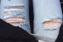 / Destroy jeans /