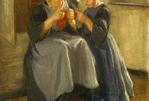 Pletení v umění...knitting in art