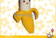 crochet food fruit and vegetables