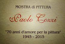 Mostra personale Pittore Cozzi Paolo