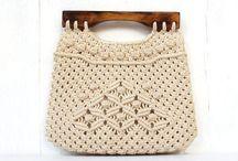 handbag ect macrame