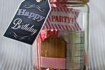 Birthday jar / Regalare un sorriso per il compleanno