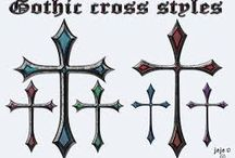 Kříže, cross
