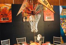Basketball themed party / Our favorite ideas for hosting a basketball party to celebrate your favorite player or team!