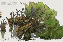 wood creatures