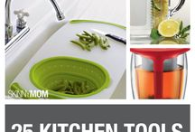 Kitchen Tools / Tools of the trade for cooking, eating and preparing healthy meals.