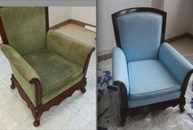 Painting Fabric Furniture