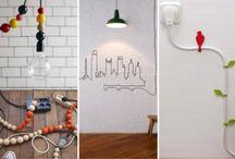 Art cables / Disimular cables con Arte