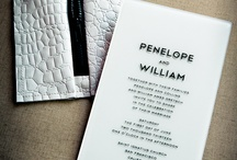 Not Your Grandma's Invitation / Here's a portfolio of some clever designs that are created using untraditional materials.