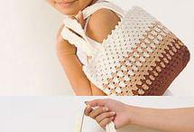 bolsa infantil de croche