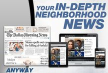 Editorial Designs / Campaign examples from The Dallas Morning News