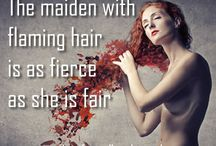 Redhead Quotes / by The Ginger Philes