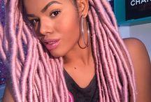 Tranças | Bars ♡ / Box braids, cabelo com tranças e mais