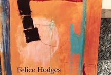 """Felice Hodges 2017 Exhibition """"Imagined Spaces"""" At Cricket Fine Art London"""