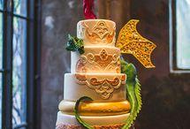 Medieval wedding cake - Debbie