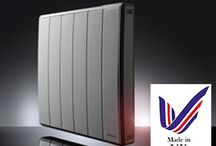 Q-RAD Smart Electric Radiators / Our most intelligent electric portable radiator to date. The Dimplex Q-Rad has adaptive room temperature control - the heater decides when to turn on to ensure the target temperature is achieved, saving money by eliminating wasted energy.