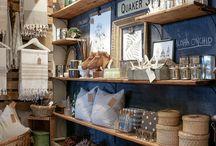 Shop stands