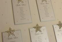 Tableau mariage winter wedding