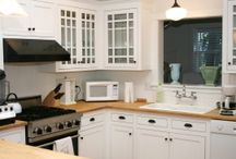 HARD MAPLE by Craft-Art / Installed photos of kitchen designs with Craft Art's Hard Maple wood countertops.   Why It's Waterproof: http://www.craft-art.com/why-craft-art-wood-countertops-are-waterproof/