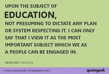 Education / by Quotegeek