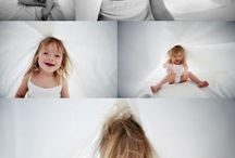 photographing a kid