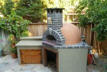 Pizza oven/ outside fire