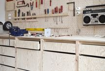 Tool shed workshop ideas