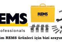REMS TÜRKİYE / Boru İşleme Makineleri ve Aletleri