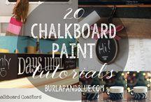 Chalkboard tips