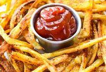 Xtra crispy oven fries.