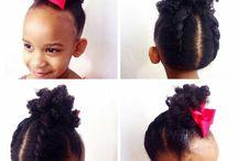 Peinados de Cabello africano de niñas