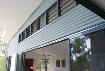 Wide or Short Breezway Louvre Windows / Wide and short windows can be strategically placed around your home or office to take advantage of fresh breezes.