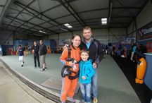 Hanging in the Hangar / Getting ready for the big jump!
