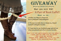 Giveaways & Contests / by Castlegate Crochet