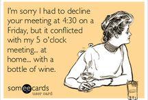 Wijn humor