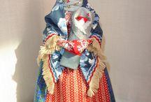 куклы из ткани Мари