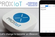 PROX IoT Beacons / All about our bluetooth beacons that are capable broadcasting iBeacon and Eddystone