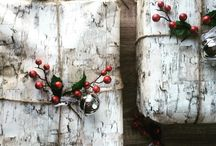 WRaPPed iN HoLiDay STyLe / Fabulous Christmas gift wrap ideas....