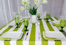 Color scheme: Greens