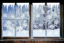 zima dekoracje
