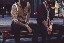 barbas&ink / barbas y tatuajes