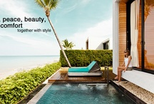 Architecture - Beach Houses, Hotels, Spas, Pools, Resorts / Inspiration if you need to build your own Beach House, Boutique Hotel or Pousada