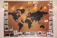 Mapas decoración