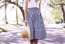 TREND TO TRY: Stripes / Classic stripes are on trend every season, making them a favourite staple. Here's how to do stripes for your shape.