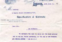 Old letterhead & billhead / by Jean-Philippe Cabaroc
