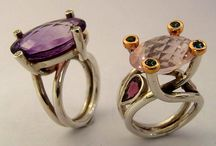 Beautiful Unique Handmade Rings / One of a kind rings