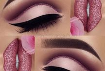 Pink make up looks