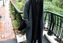 ByTheR- Long Over-sized Outwear Layered Fashion / http://en.byther.kr